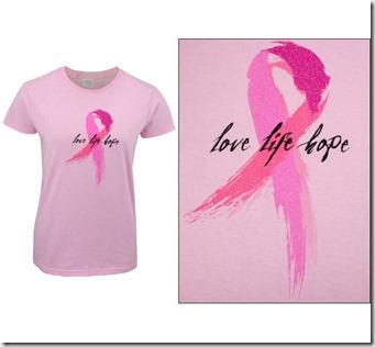 Rosa T-skjorte